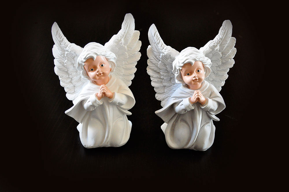 Anioł K3 Malowany